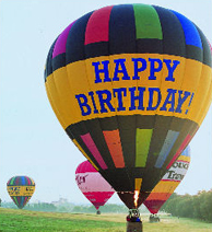 Happy Birthday Exclusive Balloon Flight